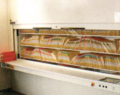 Space magnum : Lateral or Plain Shelving Flat Filling System